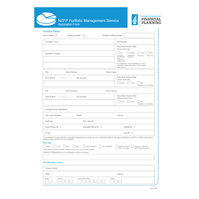 NZFP Form